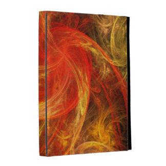 Arte abstracto de Nova de la tormenta de fuego