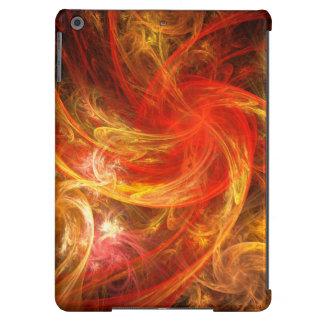 Arte abstracto de Nova de la tormenta de fuego Funda Para iPad Air