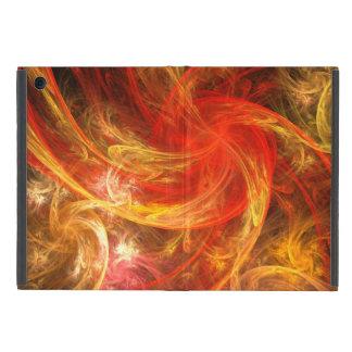 Arte abstracto de Nova de la tormenta de fuego iPad Mini Carcasas