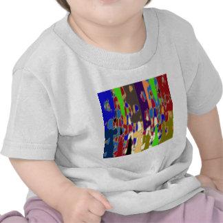 Arte abstracto de NOVINO: Modelo galáctico Camiseta