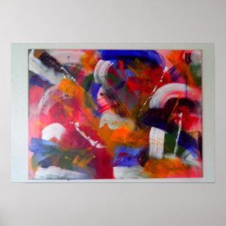 Arte abstracto de Oringinal Impresiones