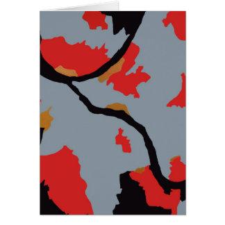 Arte abstracto de Pittsburgh Felicitaciones