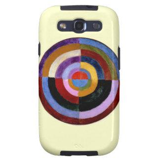 Arte abstracto de Roberto Delaunay Galaxy S3 Carcasa