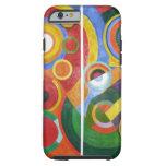 Arte abstracto de Roberto Delaunay Funda Para iPhone 6 Tough