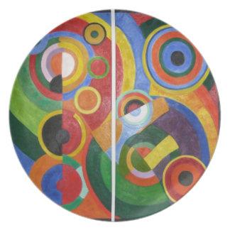 Arte abstracto de Roberto Delaunay Plato