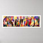 Arte abstracto de Sonia Delaunay - Bal Bullier del Poster