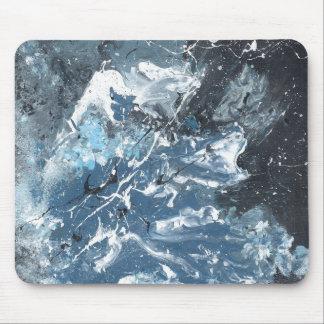 Arte abstracto de Vinn Wong - tirón Mouse Pads