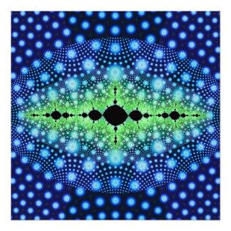 Arte abstracto decorativo salvaje del fractal psic fotografía