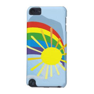 Arte abstracto del arco iris de la sol