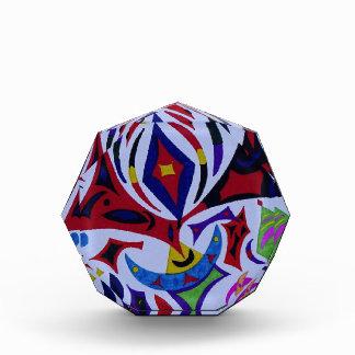 Arte abstracto del caleidoscopio enrrollado