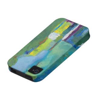 Arte abstracto del caso de Iphone 4 iPhone 4 Funda