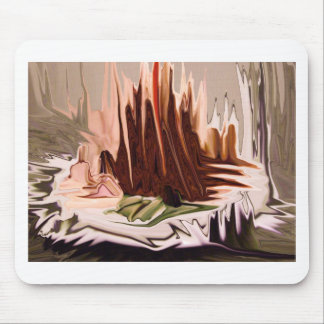 arte abstracto del chocolate tapete de raton