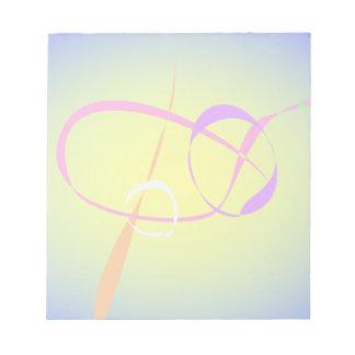 Arte abstracto del contraste y de la borrosidad bloc