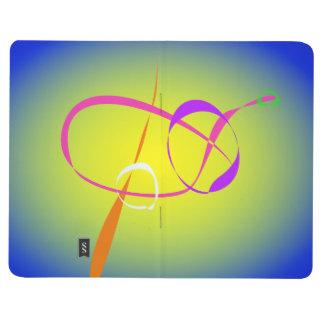 Arte abstracto del contraste y de la borrosidad cuadernos