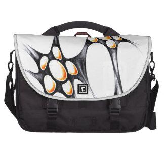 Arte abstracto del diseño bolsas de portátil