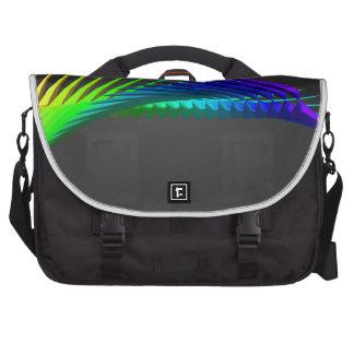 Arte abstracto del diseño del color bolsas de ordenador