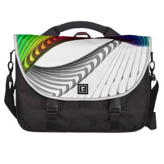 Arte abstracto del diseño del color bolsas de portatil