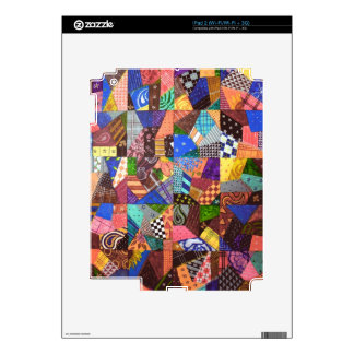 Arte abstracto del edredón de remiendo del edredón iPad 2 skins