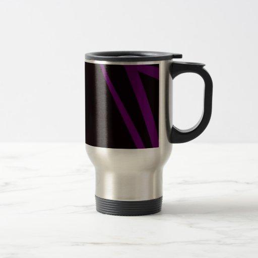 Arte abstracto del fondo negro taza de café