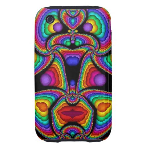 arte abstracto del fractal (46) iPhone 3 tough protectores