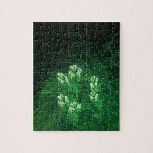 Arte abstracto del fractal del Amazonas Digital Puzzles Con Fotos