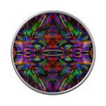 Arte abstracto del fractal del arco iris