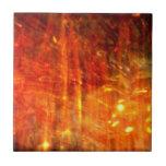 arte abstracto del fuego del otoño azulejos ceramicos
