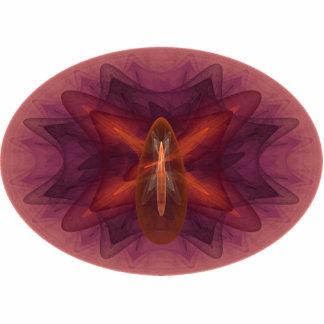 Arte abstracto del huevo de Phoenix Adorno Fotoescultura