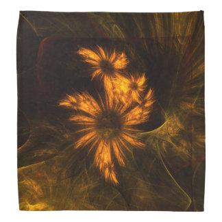 Arte abstracto del jardín de la mística bandana
