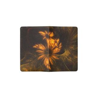Arte abstracto del jardín de la mística libreta de bolsillo moleskine