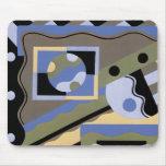 Arte abstracto en Geometrics Alfombrilla De Ratón