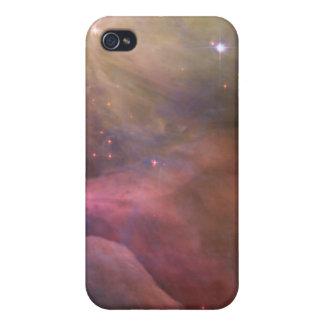 Arte abstracto encontrado en la nebulosa de Orión iPhone 4 Fundas