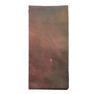 Arte abstracto encontrado en la nebulosa de Orión Servilletas Imprimidas