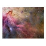 Arte abstracto encontrado en la nebulosa de Orión Postal