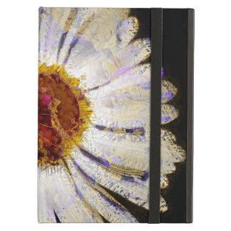 Arte abstracto enrrollado elegante de la flor blan