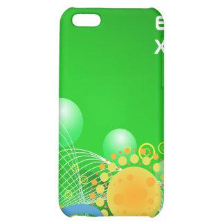 Arte abstracto Esferas y Sun - caso del iPhone 4