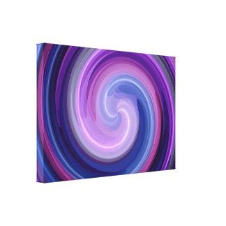 Arte abstracto espiral 6 impresión en lona