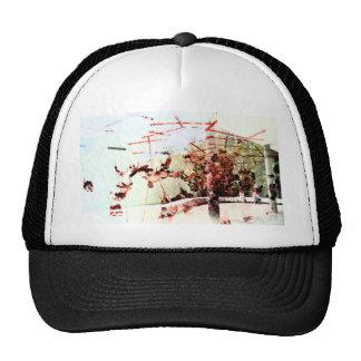 Arte abstracto gorras
