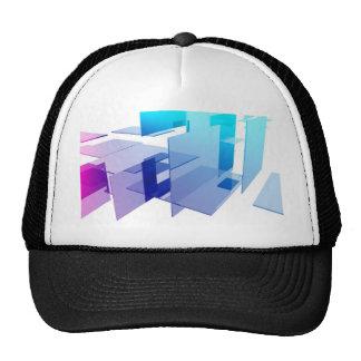 Arte abstracto gorras de camionero