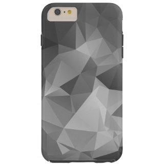 Arte abstracto gris de la pirámide funda para iPhone 6 plus tough