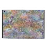 Arte abstracto helado del arco iris