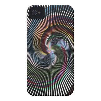 Arte abstracto hermoso de Digitaces - hacia fuera Funda Para iPhone 4