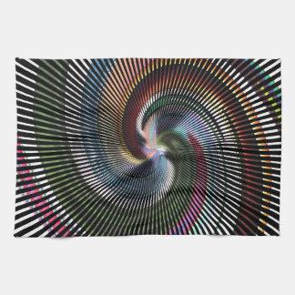 Arte abstracto hermoso de Digitaces - hacia fuera Toallas