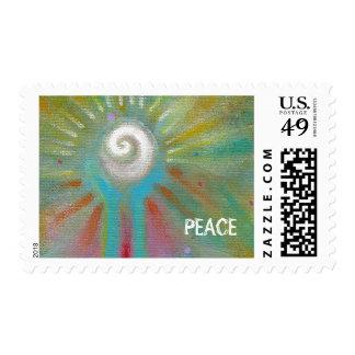 Arte abstracto inspirado colorido de la diversión sellos