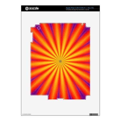 ARTE ABSTRACTO iPad 3 PEGATINA SKIN