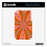 ARTE ABSTRACTO iPod TOUCH 4G SKIN