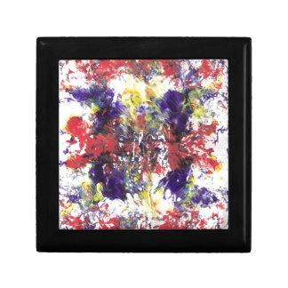 arte abstracto joyero cuadrado pequeño