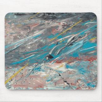 Arte abstracto - laberinto mouse pad