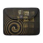 Arte abstracto Macbook de la hipnosis favorable Fundas Para Macbook Pro