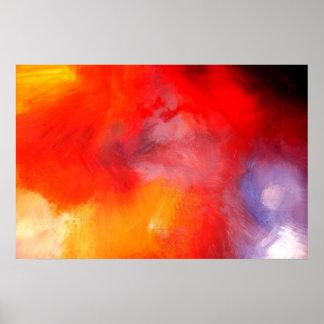 Arte abstracto minimalista - impresión del poster